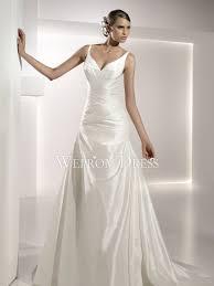 drop waist a line wedding dresses wepromdresses net