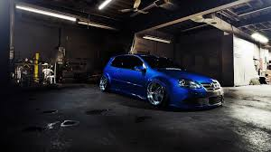 volkswagen cars volkswagen car tuning golf gti blue cars car wallpapers photos
