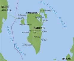 map of bahrain maps of bahrain bizbilla com