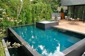 stunning overflow swimming pool design gallery interior design