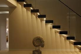 stair lighting awesome interior stair lighting ideas interior stair