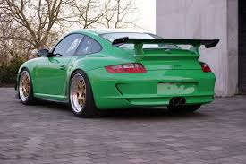 porsche 911 gt3 rs green kaege customizes the porsche 911 gt3 rs into a track tool