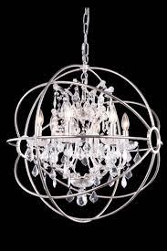 Chrome Crystal Chandelier by Crystal Sphere Chandelier Chandelier Models