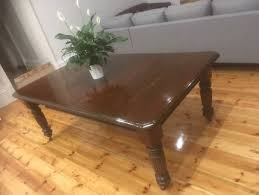 round table woodside rd timber dining table dining tables gumtree australia adelaide