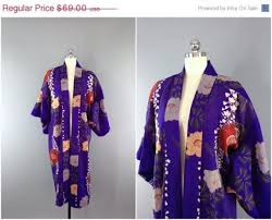 Wedding Lingerie Sale Sale Vintage Kimono Wool Kimono Robe Dressing Gown Long