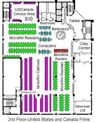 United Center Floor Plan Family History Library New Floor Plan