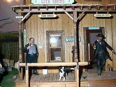 dollhouse western saloons tombstone dodge city deadwood old west