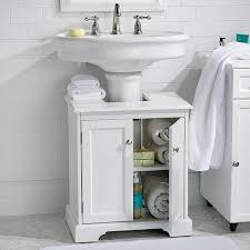 under pedestal sink storage cabinet 20 clever pedestal sink storage design ideas diy recently