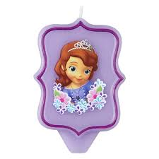 1st birthday candle sofia the birthday candle wilton