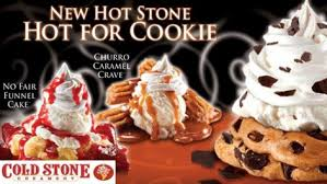get my perks half off at cold stone creamery