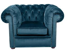 Blue Velvet Chesterfield Sofa Blue Velvet Suite Handcrafted In The Uk