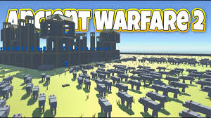siege a 1000 wolves siege a castle let s play ancient warfare 2 gameplay