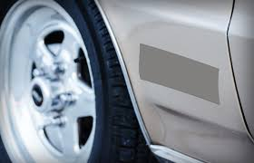 fixing dent in parking lot scam detector