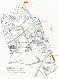 Surrey England Map by Woodcote Park