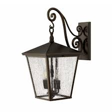 Large Wall Sconce Lighting Buy The Trellis Large Outdoor Wall Sconce