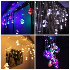 Curtain Christmas Lights Indoors Round Led Christmas Lights Vv Led Round Wire Light Dewali