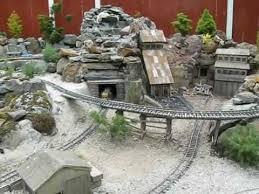 g scale garden railway mining camp youtube