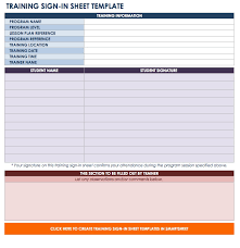 Free Templates For Sign In Sheets Free Sign In And Sign Up Sheet Templates Smartsheet