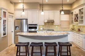 oval kitchen island kitchen oval quartz countertop black leather barstools quartz
