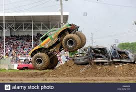 monster truck show detroit monster trucks freestyle stock photos u0026 monster trucks freestyle