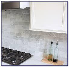 gray marble subway tile backsplash medium size of bathroom