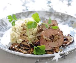 cuisiner le foie de veau recette de fete foie de veau farci aux cèpes