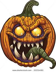 halloween clipart creation kit pumpkin monster halloween stock images royalty free images u0026 vectors