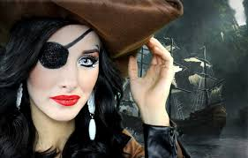 Pirate Makeup For Halloween Pirate Wench Halloween Makeup Images
