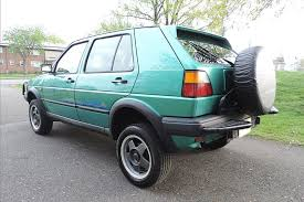 volkswagen syncro 4x4 the rare volkswagen golf 4x4 you didn u0027t know existed