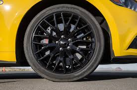 wheel mustang 2016 ford mustang gt test review motor trend