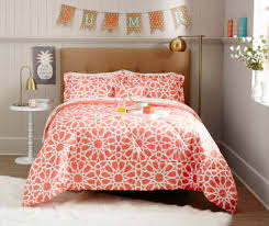 Orange And White Comforter Bedding For The Home Big Lots