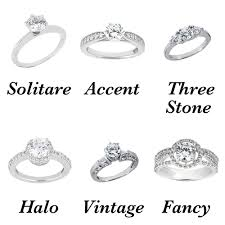 different types of wedding rings types of engagement rings 2 different types of engagement ring