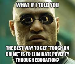 Meme Education - education makes people harder to fool politicians hate it meme guy