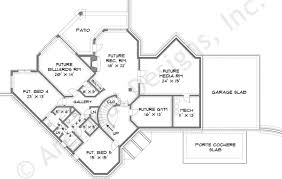 baby nursery house plans lakefront lakefront home plans one