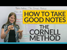 r馮lementation siege auto lectures ideas how to study efficiently the cornell notes method