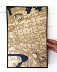 Cleveland Ohio Map by Cleveland Ohio U2013 Stadiummapart