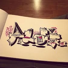 A Scary One Pleasure Pleasuregang Graffiti Sketch Blackbook