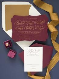 wedding invitation printing fall 2017 wedding invitation collection with screen printing