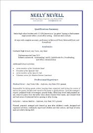 How To List Summer Jobs On Resume by Resume Objective Part Time Job Template Effective In Sales