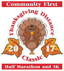 register thanksgiving distance classic 2017