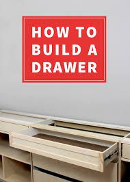 how to build a table with drawers how to build a drawer gray house studio