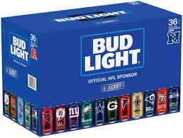 bud light beer box hat bud light creates new collectible 36 pack of team cans for 2017 nfl