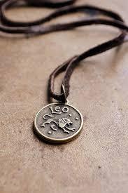 mens leather necklace chains images Mens basic zodiac necklace choose your sign unisex zodiac jpg