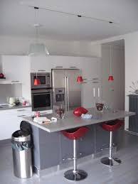 deco cuisine blanche et grise deco cuisine gris et noir deco cuisine gris et blanc idées
