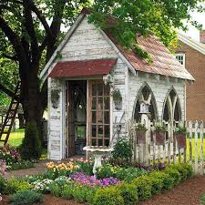 Summer House For Small Garden - best 25 backyard sheds ideas on pinterest rustic shed potton