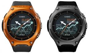 smartwatch android casio s smartwatch is like a g shock with android wear