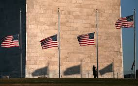 Flags Half Staff Today California Poignant Photos Of The American Flag Through History