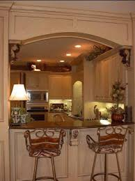 Interior Kitchen Design Ideas Diy Breakfast Bar Frame Built To An Existing Kitchen Island 12