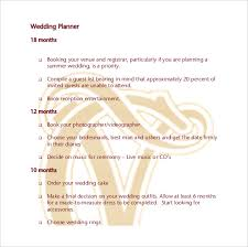 wedding planner guide wedding planner template 10 free word pdf documents