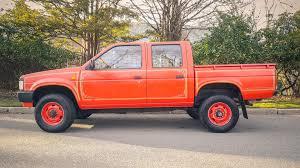 orange nissan truck ottoex imports retro and neo classic auto imports ottoex america